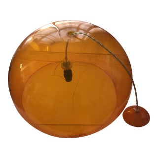 Kartell Orange Ceiling Lamp by Ferruccio Laviani For Sale