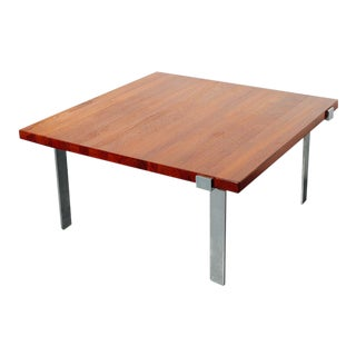 Teak Coffee Table by Illum Wikkelso For Sale