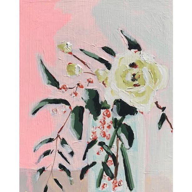 Original Floral Still Life Painting by Kate Waddell For Sale