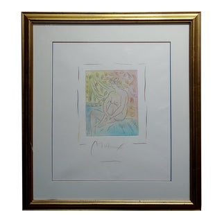 "Peter Max ""Homage to Pablo Picasso"" Vintage Etching For Sale"