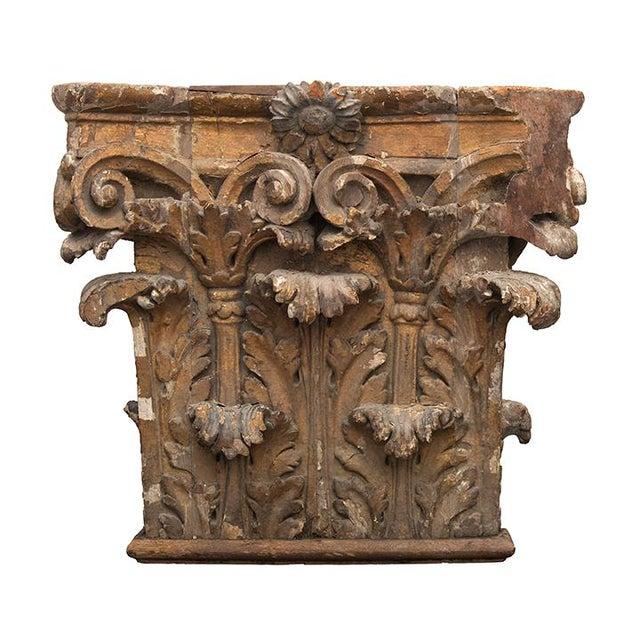 The School of Paris Antique Chapiteaux - a Pair For Sale - Image 3 of 12