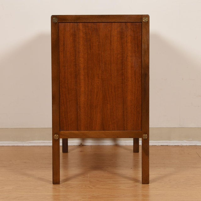 DUX Compact Mid-Century Swedish Modern Cabinet in Walnut by Dux For Sale - Image 4 of 13