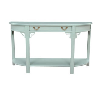 Campaign Style Hall Table For Sale