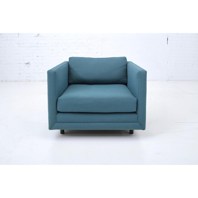 Harvey Probber Tuxedo Lounge Chair For Sale - Image 11 of 11