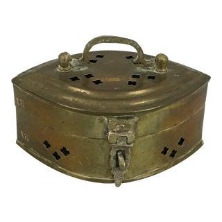 Vintage Eye-Shaped Cricket Box