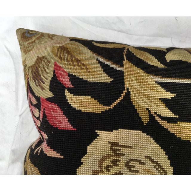 French Provincial French Needlepoint Aubusson Pillow For Sale - Image 3 of 7
