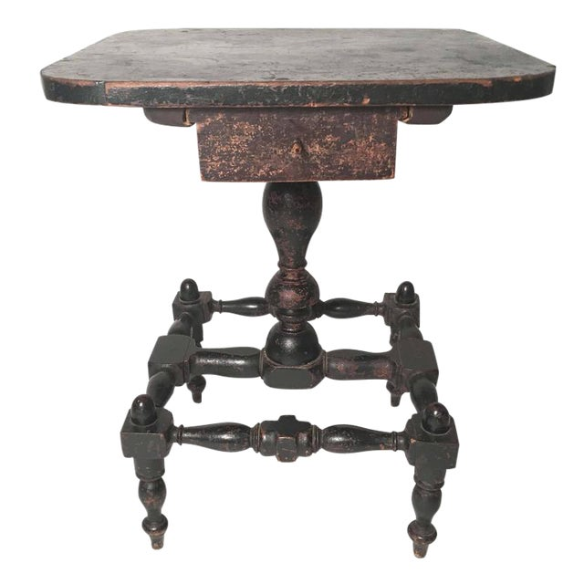 Early American Country Side Table, circa 1820-1830 - Image 1 of 9
