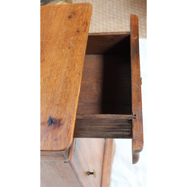 Louis Phillipe 1840 Oak Commode For Sale In Milwaukee - Image 6 of 8
