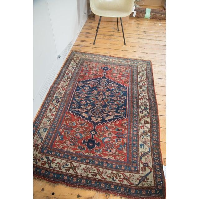 """Textile Antique Bijar Rug - 3'7"""" X 5'3"""" For Sale - Image 7 of 7"""