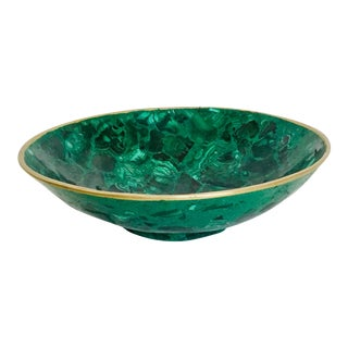 La Malaquita Bowl by Marjorie Skouras For Sale