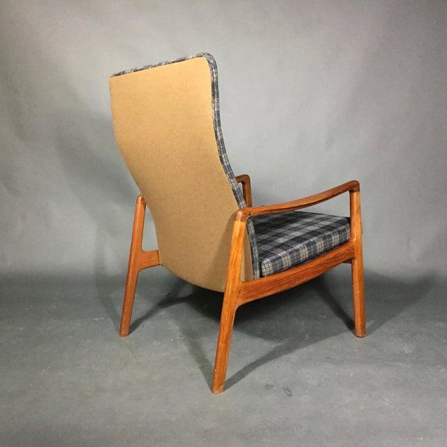 Ole Wanscher Teak Armchair, France & Søn, Denmark 1950s For Sale In New York - Image 6 of 11