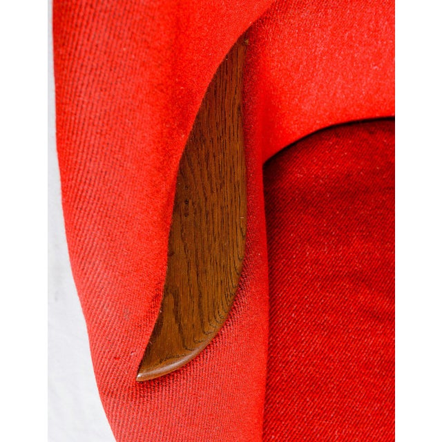 """Wood Nanna Ditzel """"Oda"""" Lounge Chair For Sale - Image 7 of 9"""