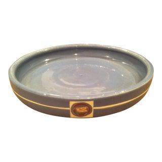 Mid-Century Weller Platter For Sale