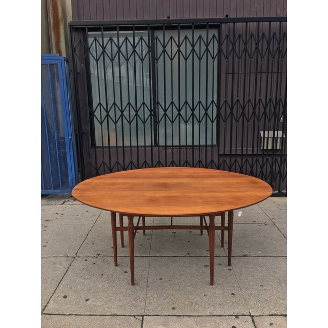 Mid-Century Drop Leaf Dining Table - Image 8 of 10