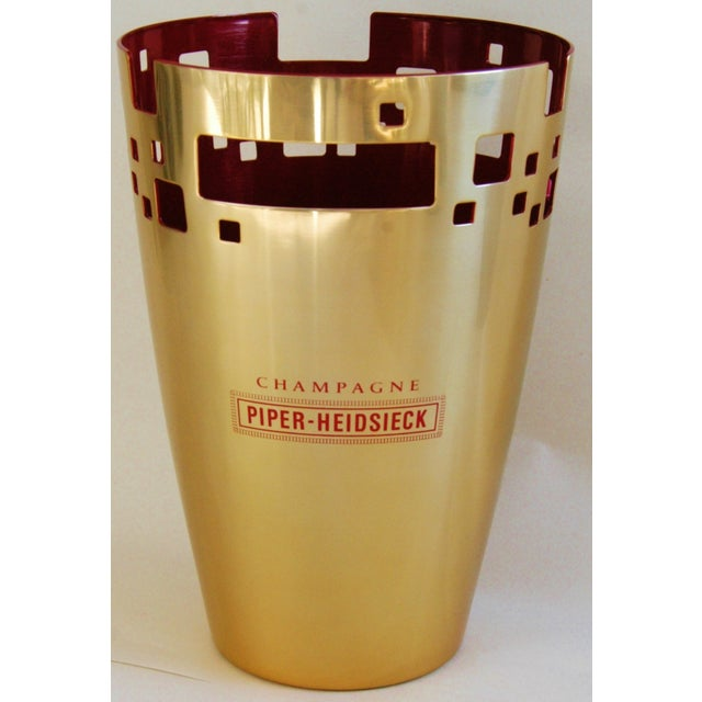 French Piper-Heidsieck Champagne Bucket Chiller For Sale - Image 3 of 11