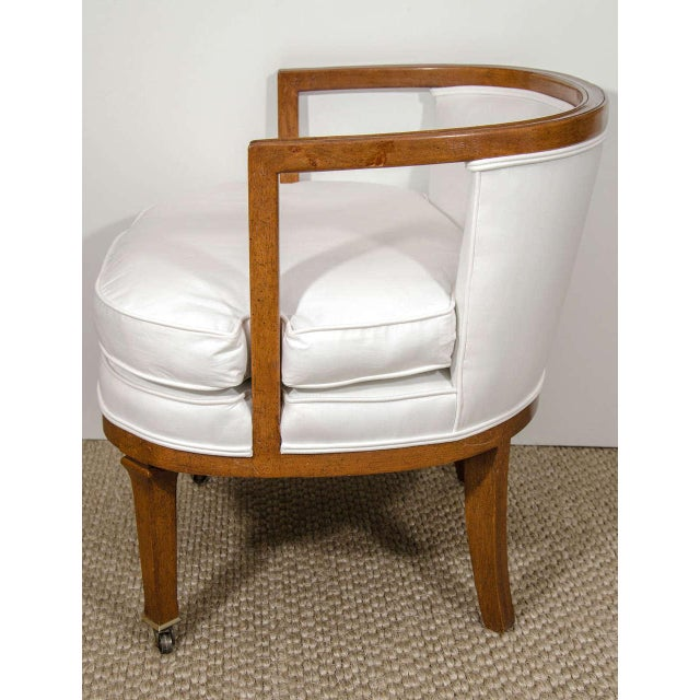 Vintage Barrel Back Chair - Image 5 of 7