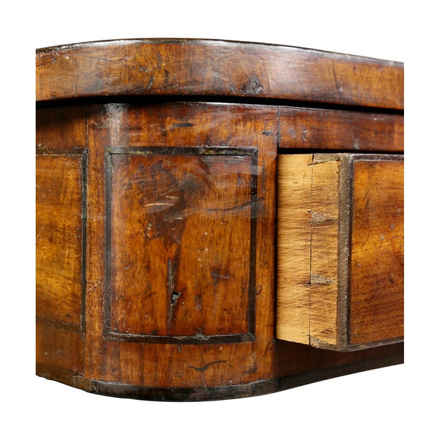 Fine Regency Mahogany and Ebony Inlaid Writing Table For Sale In Boston - Image 6 of 13