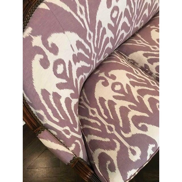 Louis XVI Style Three Seat Sofa - Image 6 of 9
