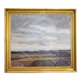 Landscape Painting by Lars Swane For Sale