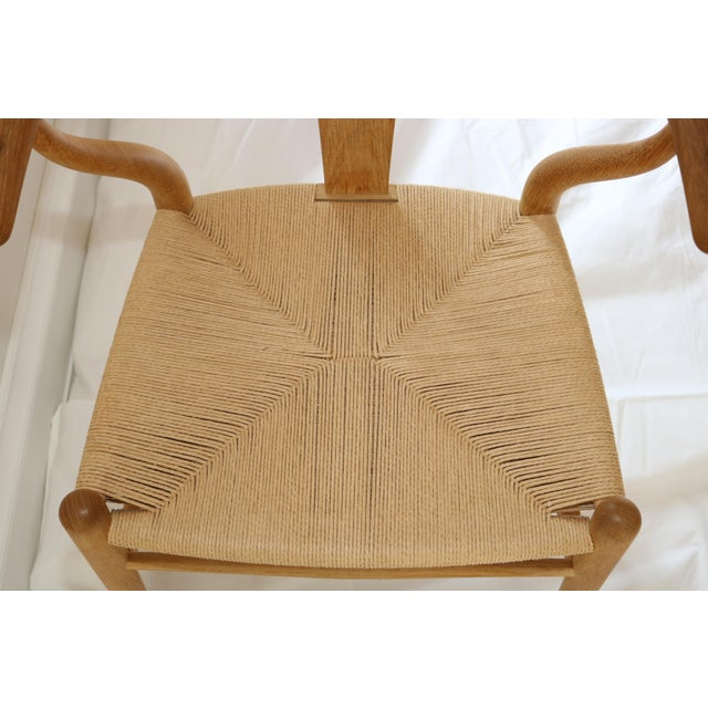 Up for sale are a Set of 8 Hans Wegner Wishbone Chairs by Carl Hansen & Son made in Denmark. All the chairs are in great...