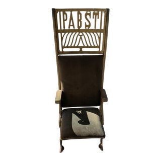 1895 Antique Pabst Theatre Chair For Sale