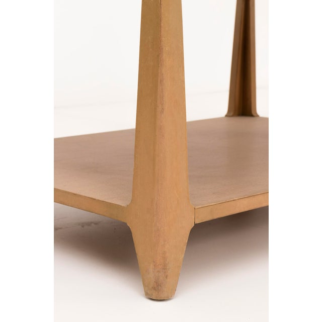 Edward Wormley Leather Top Coffee Table For Sale - Image 5 of 7