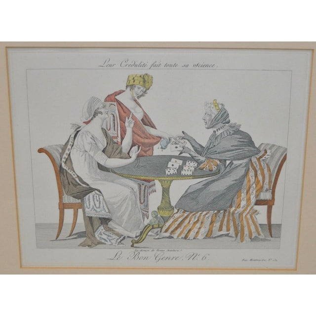 French Hand Colored Engravings - A Pair - Image 4 of 8