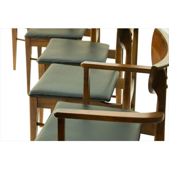 Mid Century Modern Bassett Dining Chairs - S/5 - Image 4 of 10