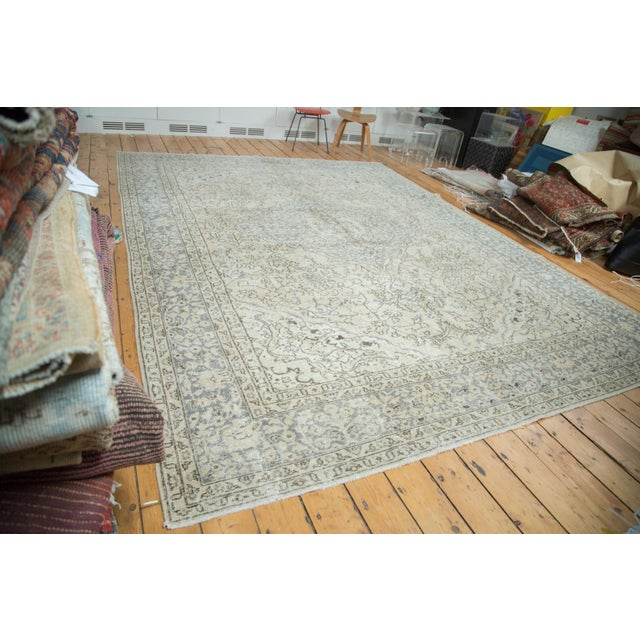 "Distressed Oushak Carpet - 9'4"" X 12'2"" - Image 3 of 10"