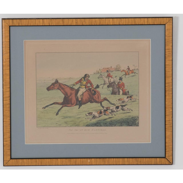 English Traditional 1825 English Hunting Prints by Henry Alken, London - Set of 6 For Sale - Image 3 of 12