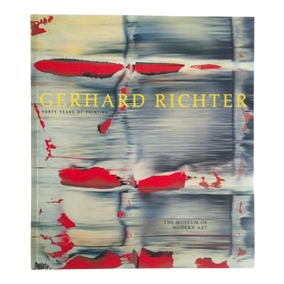 "Gerhard Richter "" Forty Years of Painting "" 1st Edition Moma Exhibition Collector's Art Book For Sale"