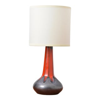 Vintage Danish Table Lamp by Ole Christensen, 1960s For Sale
