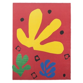 """Henri Matisse """"Vegetable Elements"""" First Edition Poster For Sale"""