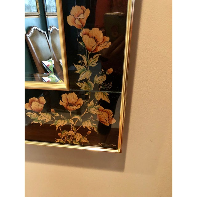 Chinoiserie Labarge Eglomise Chinoiserie Mirror - Final Markdown For Sale - Image 3 of 12