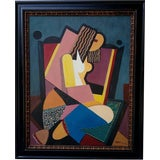 Image of Reza Afrookhteh Cubist Nude For Sale