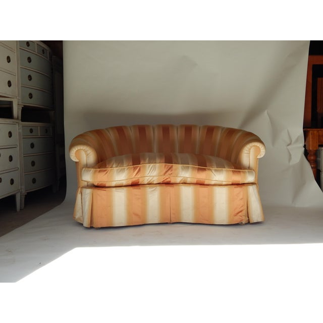 Curved Channel Back Settee - Final Sale! - Image 10 of 10