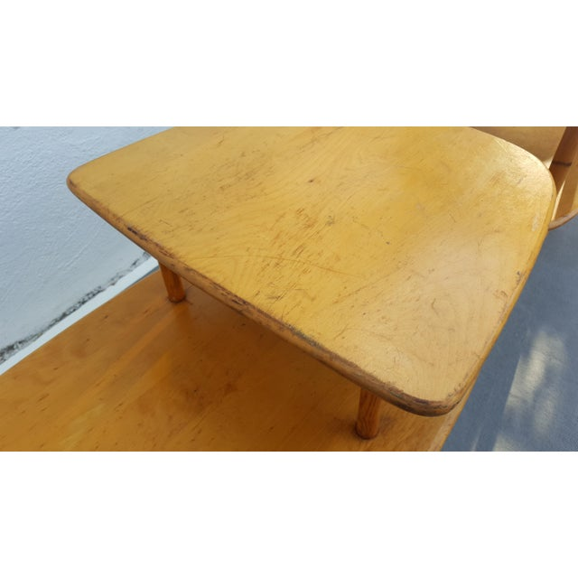 Brown Heywood - Wakefield Two Tier Side Tables a Pair For Sale - Image 8 of 13