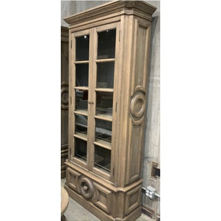 Custom Design Wallace Glass Front Cabinet Preview