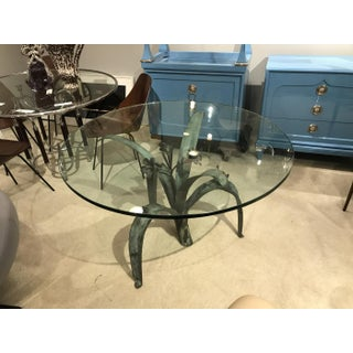 1960s French Bronze Dining Table Preview