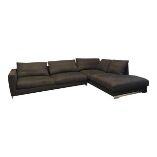 Molteni Dark Brown Sectional For Sale