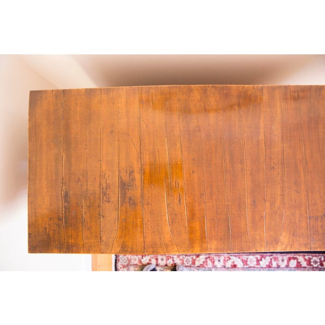 Antique Wooden Buffet Cabinet For Sale - Image 4 of 7