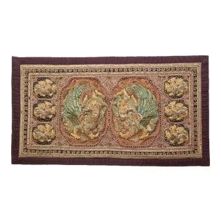 Vintage Burmese Kalaga Tapestry For Sale