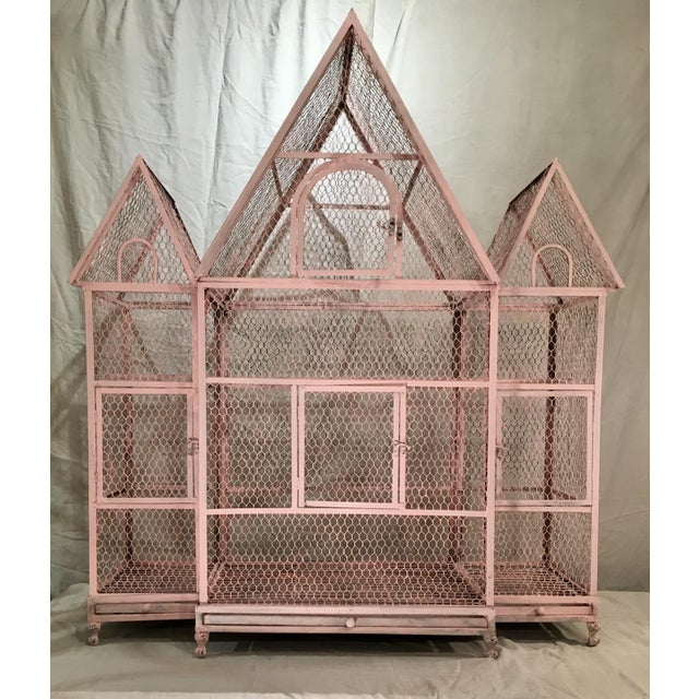 Pink Chateauseque Birdcage - Image 11 of 11
