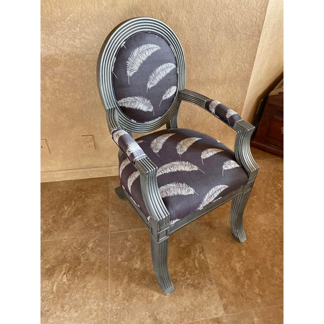 Sally Sirkin Lewis Custom Chairs - Set Of 6