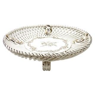 Spanish Lattice Weave Ceramic Dish