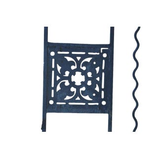 Wrought Iron Balcony Railings From 1940s Theater