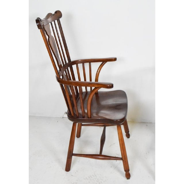 1950s 1950s Vintage L.& j.g. StickLey Dining Room Chairs - Set of 6 For Sale - Image 5 of 12