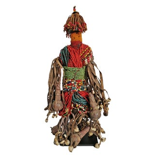 Fali Beaded Doll Cameroon For Sale