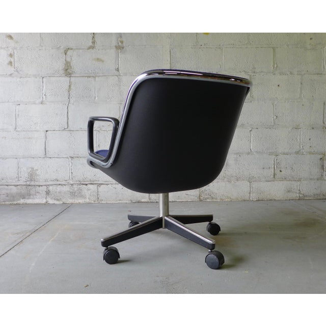 Mid Century Modern Pollock Office Chair by Knoll - Image 5 of 8
