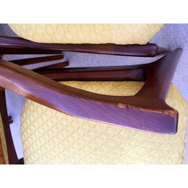 Mid Century Mod Curved Tailback Dining Chairs - 6 - Image 11 of 11